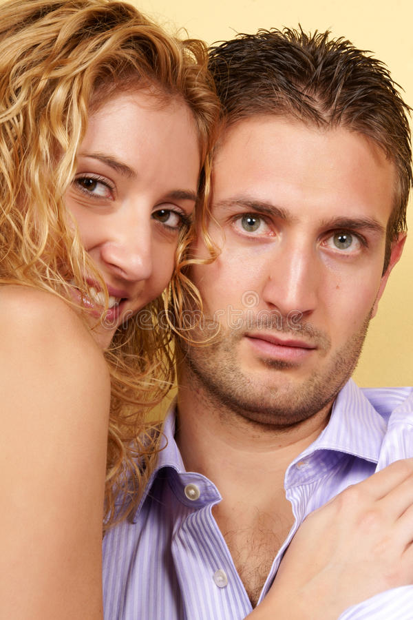 Download Young couple in love stock photo. Image of adult, tenderness - 11819938