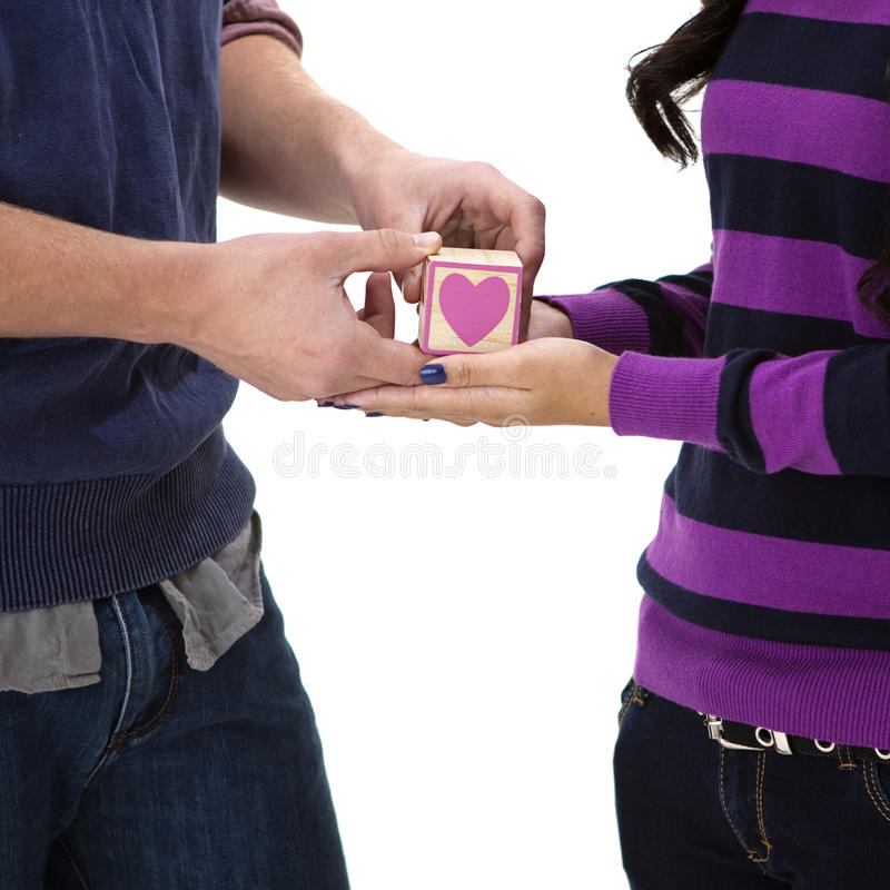 Download Young couple in love stock photo. Image of hands, love - 25187592
