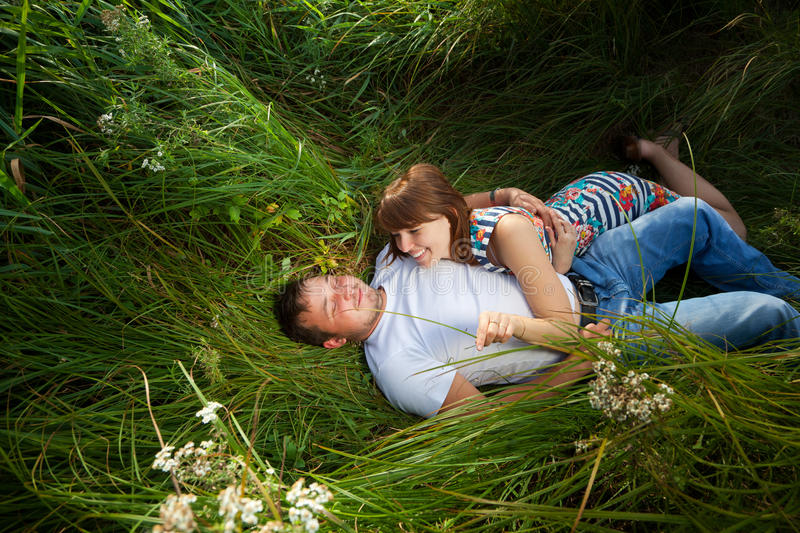 Download Young couple in love stock image. Image of outdoor, girlfriend - 26271865
