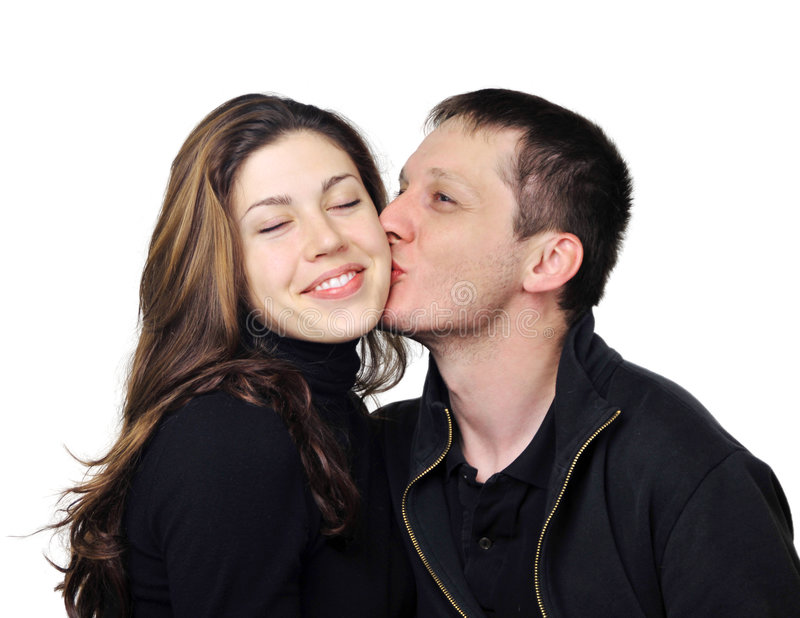 Download Young couple in love stock photo. Image of faces, adults - 6820532