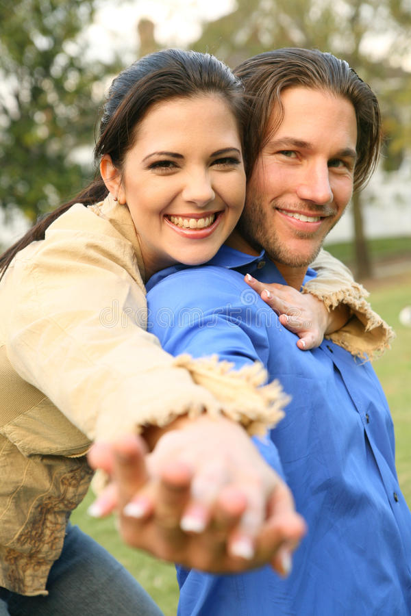 Download Young Couple In Love stock photo. Image of female, happy - 9928286