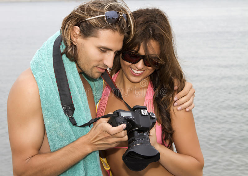 Download Young Couple In Love At The Beach Stock Photo - Image: 20563020