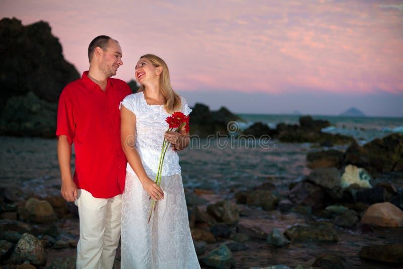 Download Young Couple Near The Ocean Stock Photos - Image: 8097793