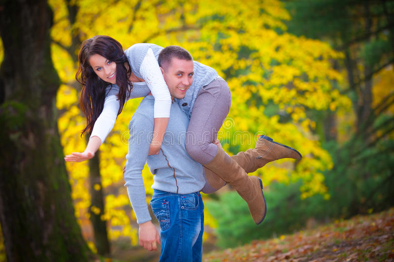 Download Young Couple At The Park Royalty Free Stock Photo - Image: 28115405