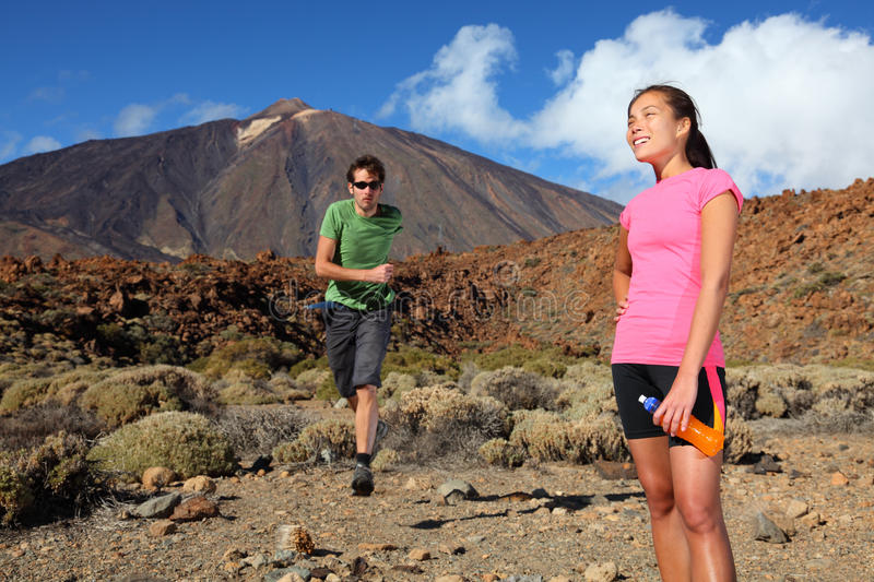 Download Young Couple Running Royalty Free Stock Image - Image: 13292526