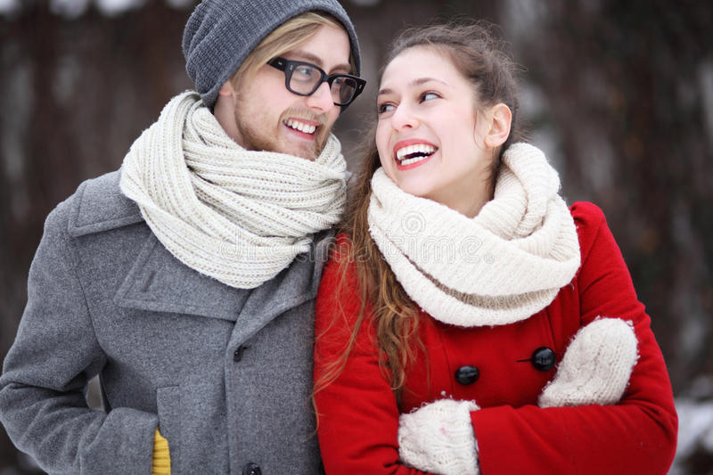 Download Young Couple Smiling Royalty Free Stock Image - Image: 29523646