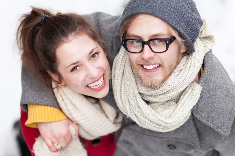 Download Young Couple Smiling Stock Photo - Image: 29526190