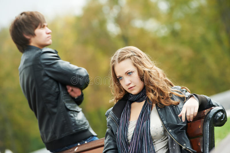 Download Young Couple In Stress Relationship Stock Photo - Image: 21628440