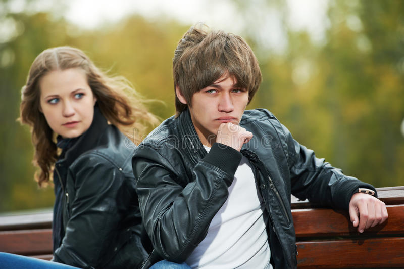 Download Young Couple In Stress Relationship Stock Image - Image of frustration, conflict: 21701387