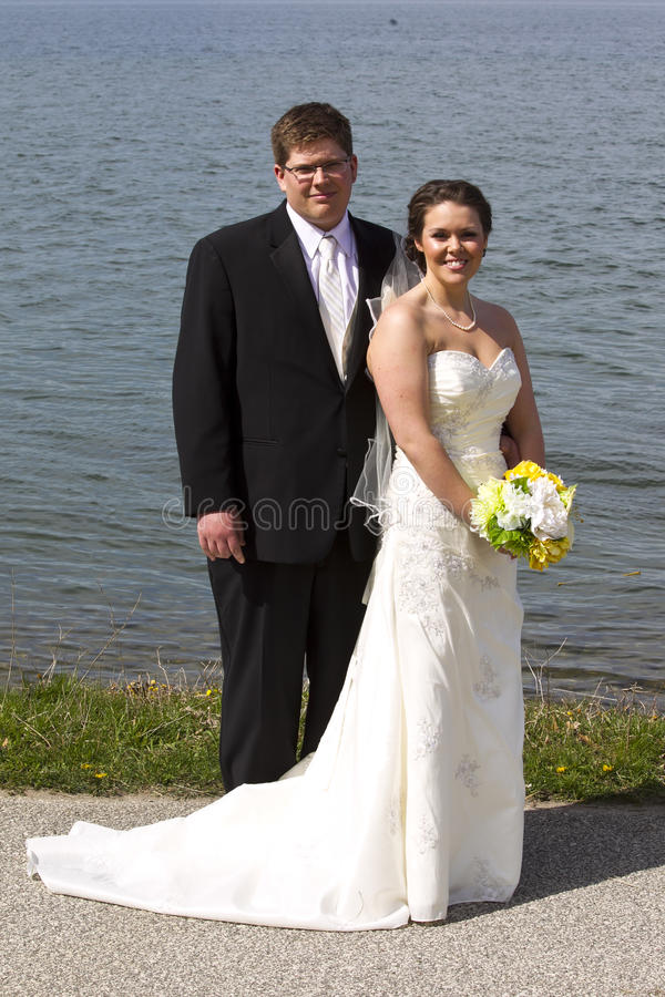 Download Young Couple On Their Wedding Day Stock Photo - Image: 24658198