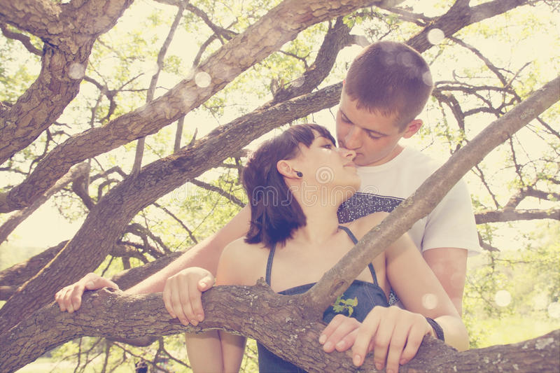 Download A Young Couple,tinted Royalty Free Stock Photography - Image: 26199787