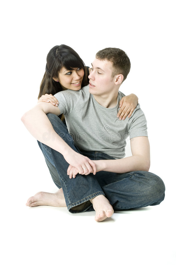 Young Couple Together royalty free stock photo