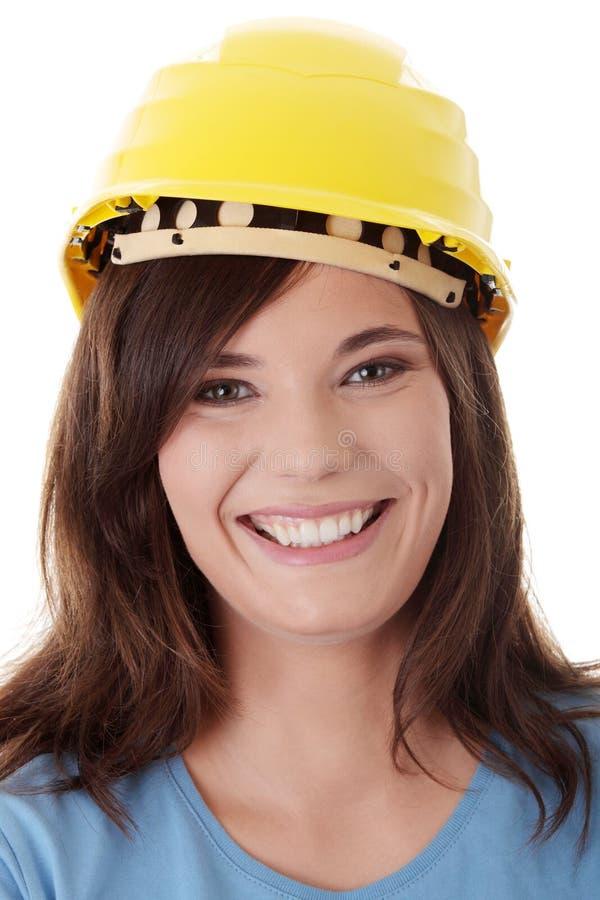 Download Young craftswoman stock image. Image of lumberman, industrial - 16627049