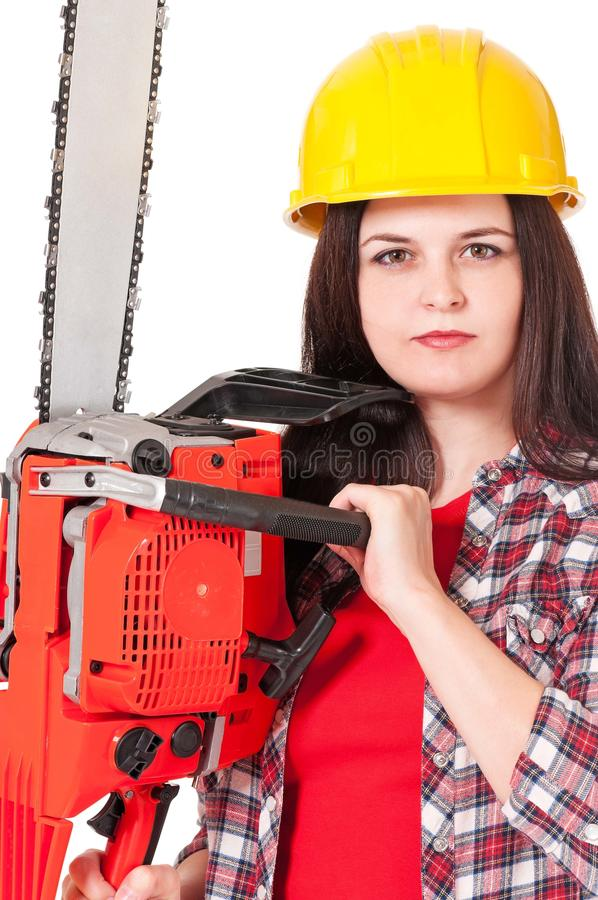 Young Craftswoman Stock Photo