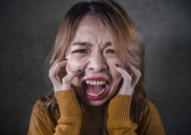 https://thumbs.dreamstime.com/b/young-crazy-desperate-upset-asian-korean-woman-screaming-scared-anxious-feeling-anger-pain-isolated-dark-background-136142003.jpg