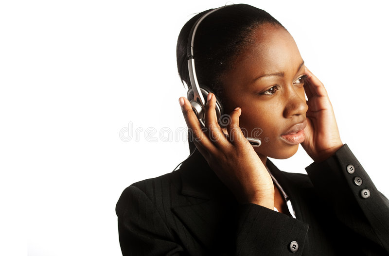 Young customer service royalty free stock images