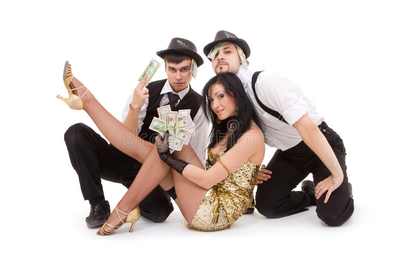 Download Young dancers posing stock image. Image of style, beautiful - 19728249
