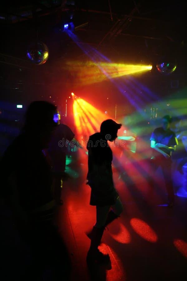Young dancing woman royalty free stock photos