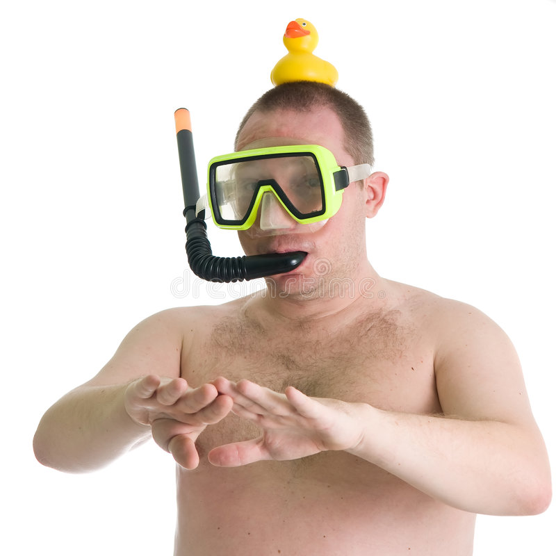 Free Young Diver Royalty Free Stock Photography - 7081947