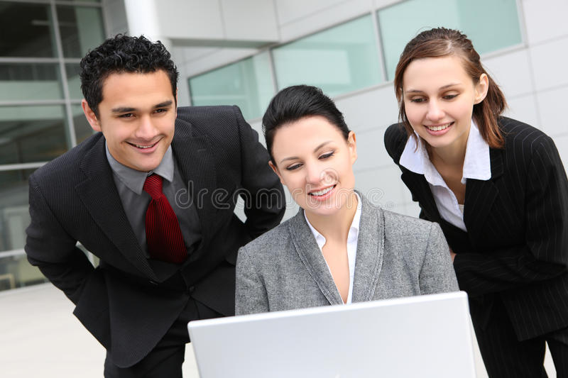 Young Diverse Business Team royalty free stock photo