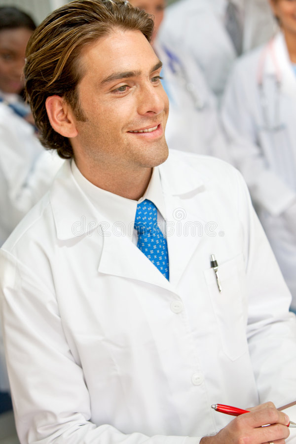 Download Young doctor stock photo. Image of male, resident, student - 8620764