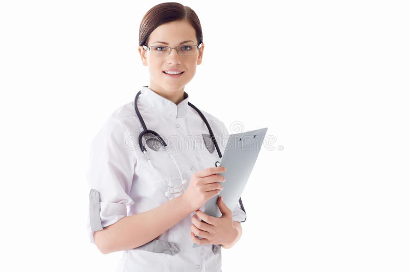 Download Young doctor stock image. Image of 25, white, adult, woman - 31369889