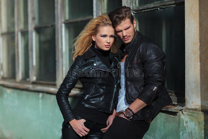 Download Young Dramatic Fashion Couple Stock Image - Image: 35446461