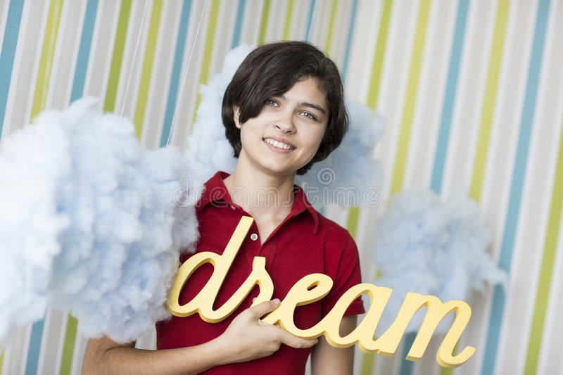 Download Young dreamer stock photo. Image of girl, happiness, teenager - 33200430