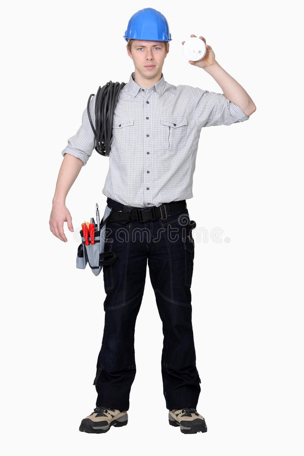 Download Young electrician stock image. Image of occupation, expression - 28641861