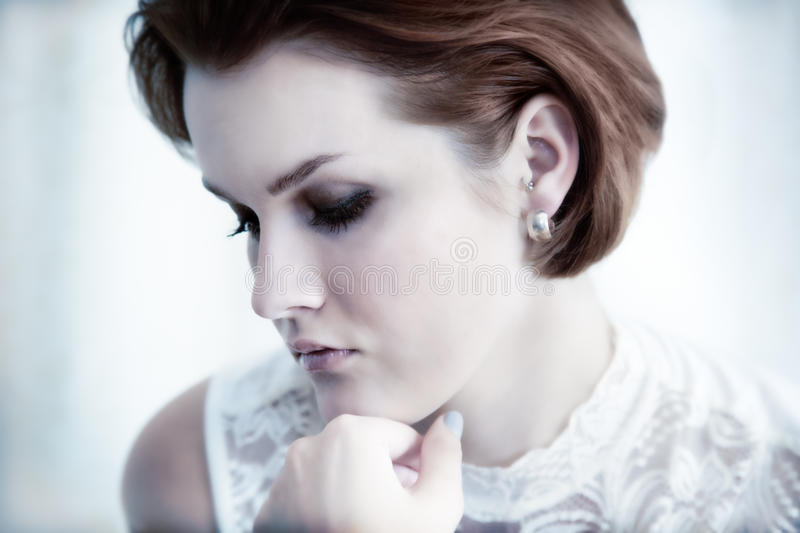 Download Young Elegant Woman. Glamour Royalty Free Stock Image - Image: 25562666
