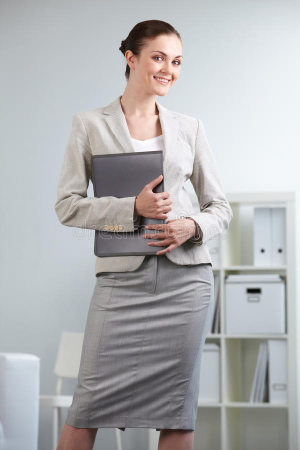 Download Young employee stock image. Image of adult, collar, feminine - 22108913