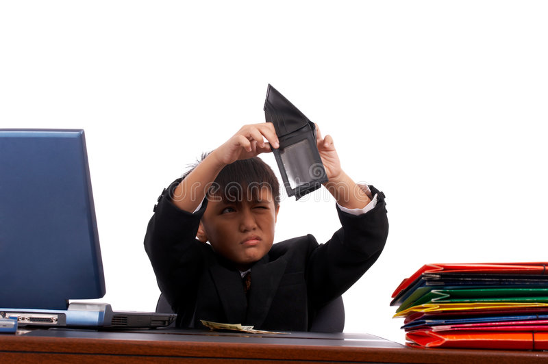 Download Young employee looking stock image. Image of white, looking - 4887745