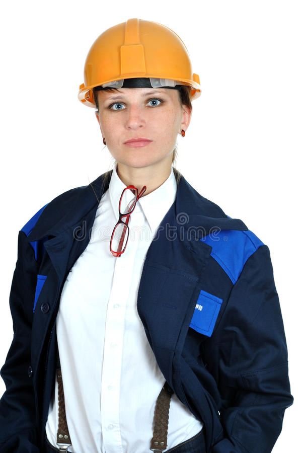 Free Young Engineer Girl Stock Photography - 10078052