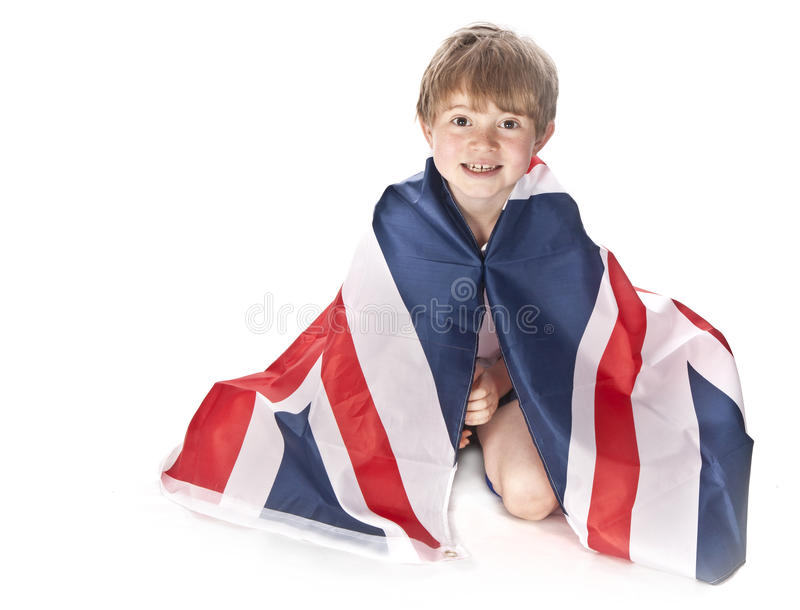 Young England Football Fan Stock Photography