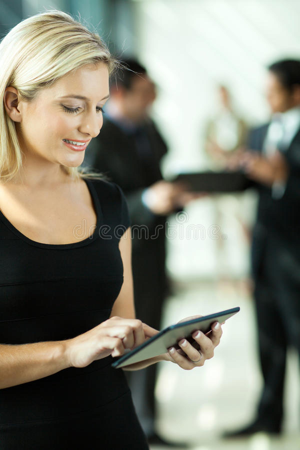Young entrepreneur royalty free stock image