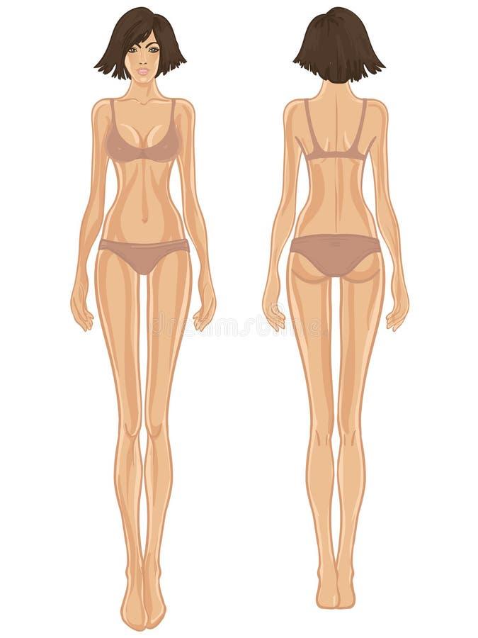 body template woman