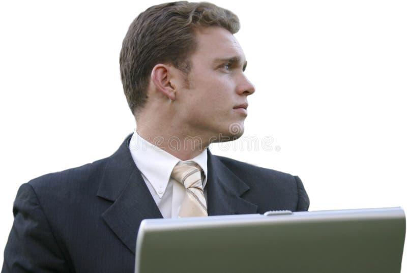 Young executive stock photo