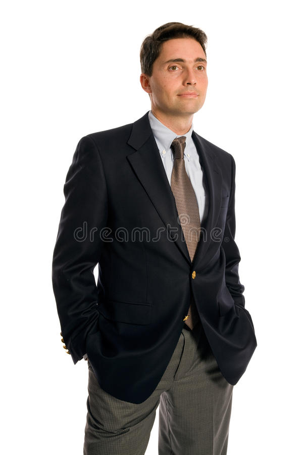 Young executive royalty free stock photography