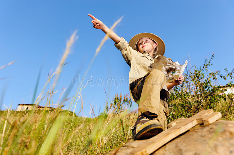 Download Young explorer stock image. Image of people, happiness - 26188945