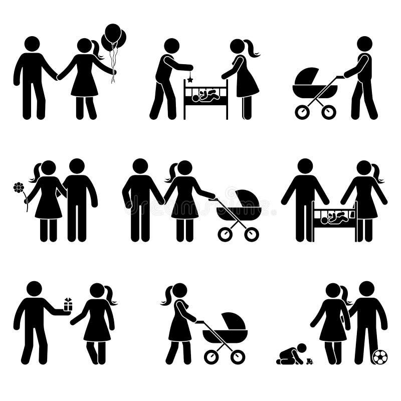 Family Walking Stock Illustrations 13 542 Family Walking