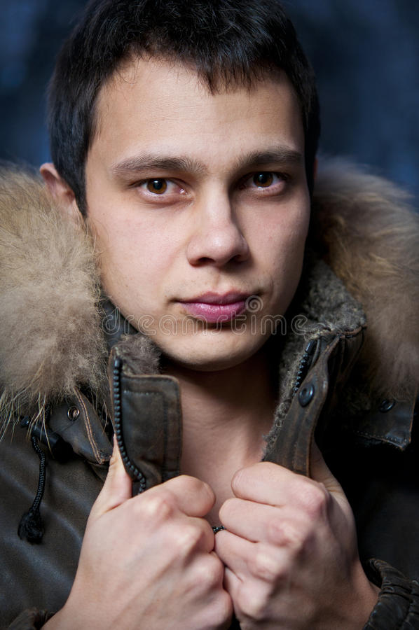 Download Young Fashion Man In Jacket Stock Image - Image: 18152257