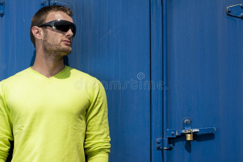 A young fashion model royalty free stock photography
