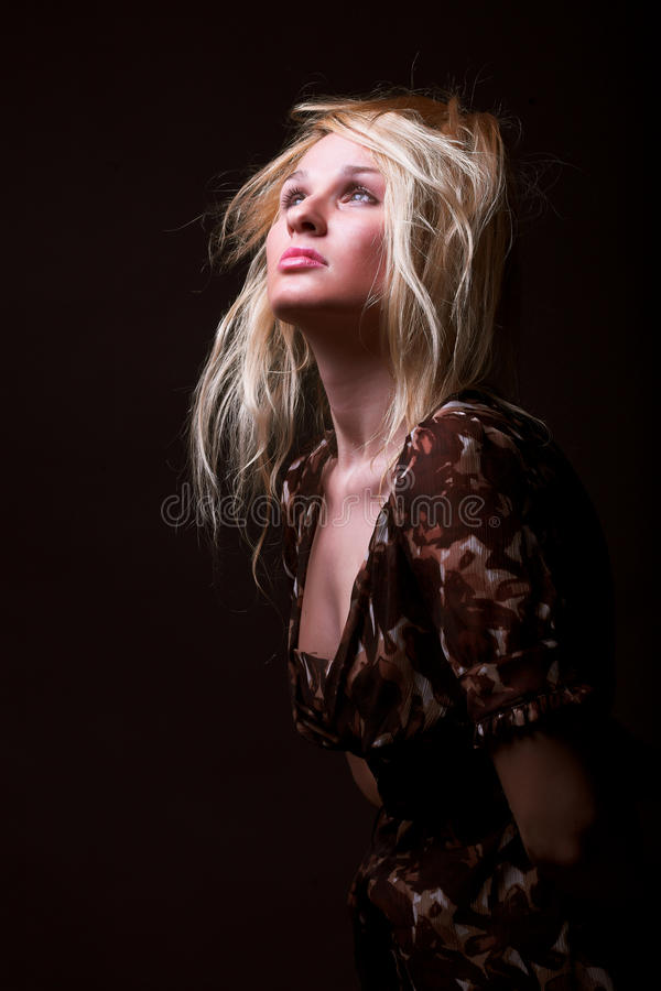 Young Fashion Model Stock Images