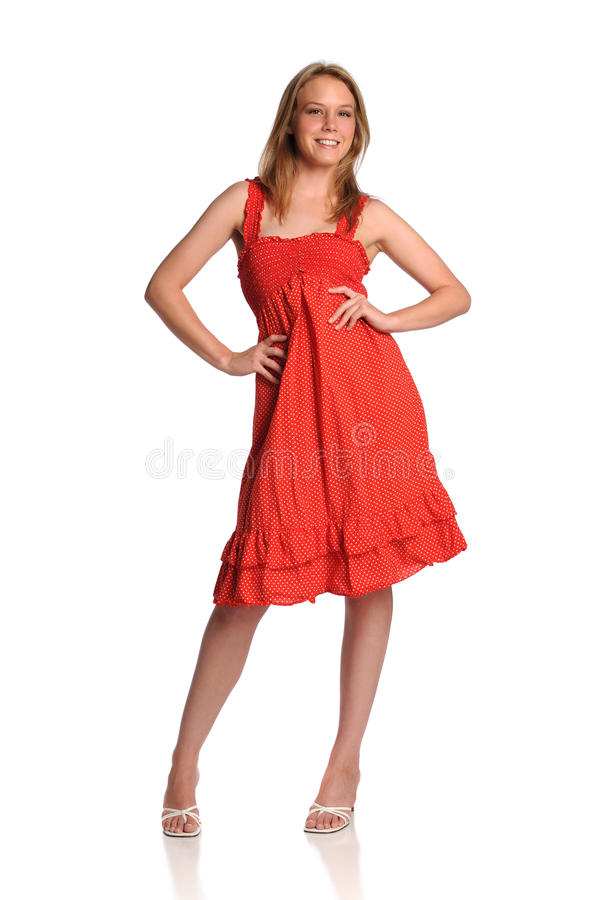 Young fashion model