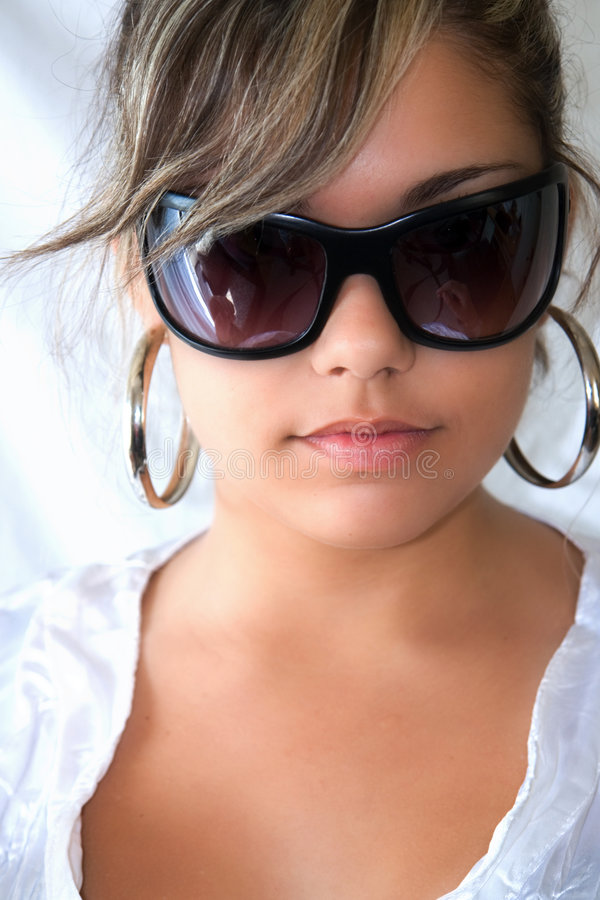 Young fashion model royalty free stock images