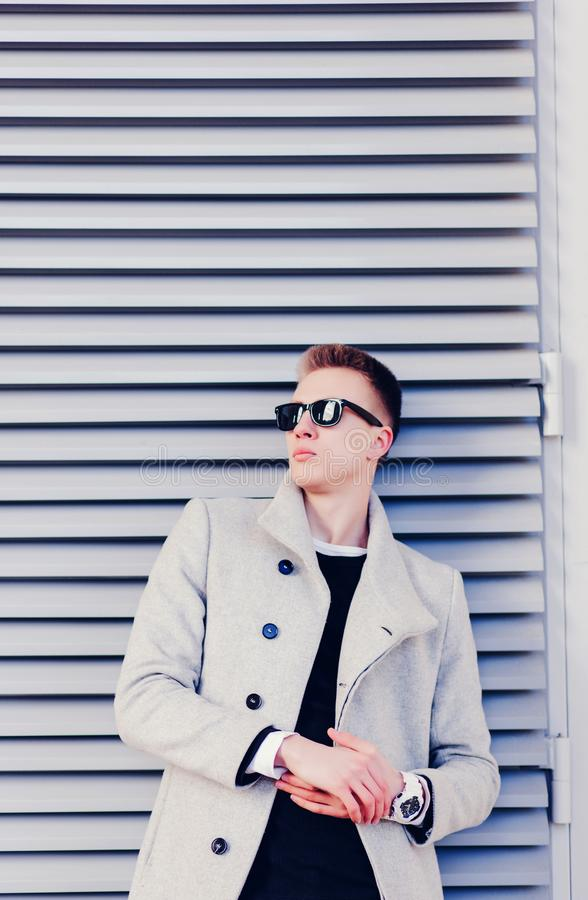Young fashionable man stock photography