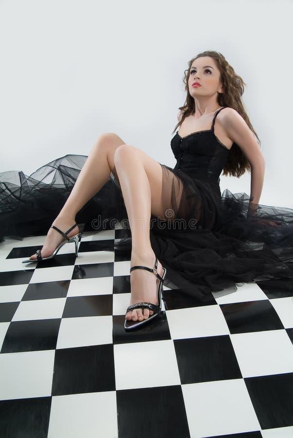 Young Fashionable Woman stock photo