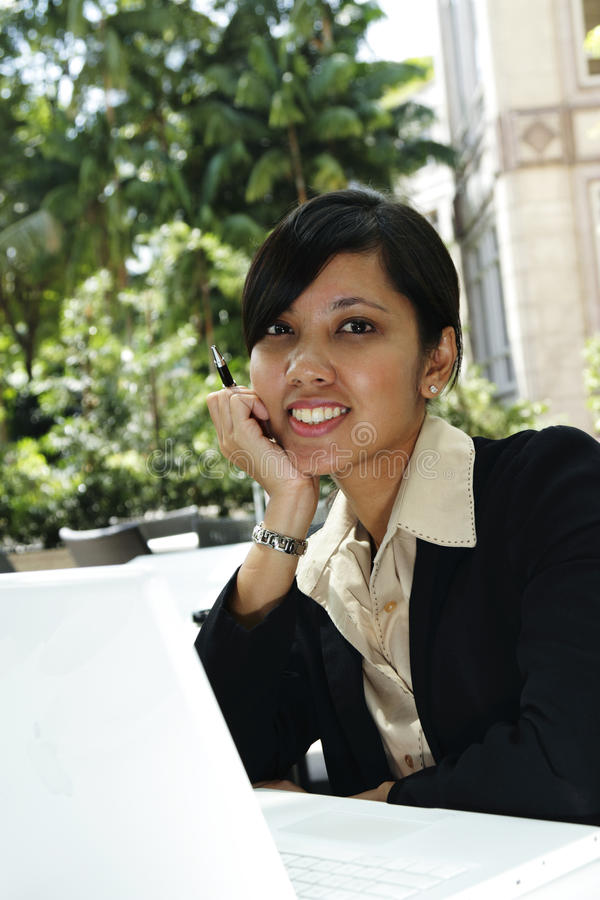Download Young Female Business Executive Stock Image - Image: 13053855