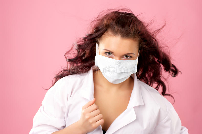 Download Young Female Doctor In Mask Stock Photos - Image: 18876563