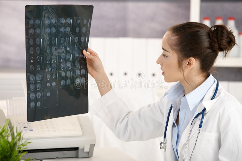 Download Young Female Doctor In Office Stock Image - Image: 19674123